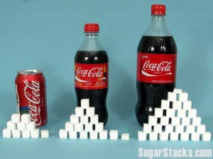 Coke and Sugar Cube Image