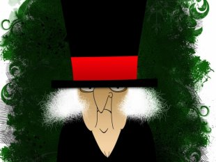 scrooge by shutterstock