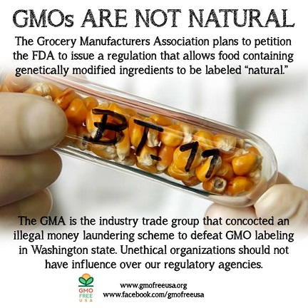 GMOs are not Natural