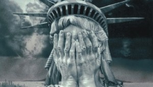 Statue of Liberty Crying