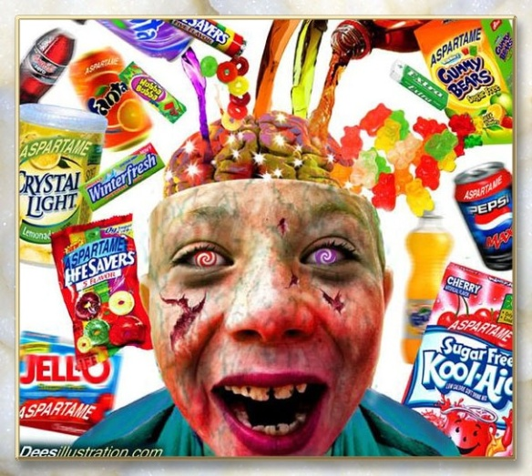 Aspartame Brain damage