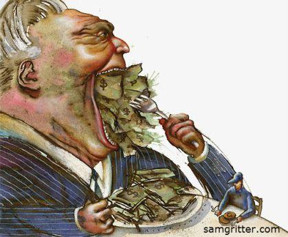 Greedy by samgrittercom