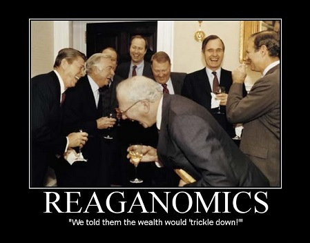 Reaganomics smaller