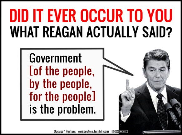 Ronald Reagan-Reagan actually said