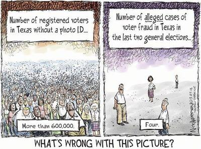 Voter Fraud - Whats wrong with this pic