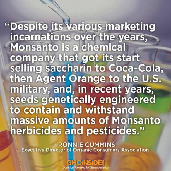 GMO Monsanto Chemical History