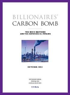 Keystone -Billionaires Carbon Bomb