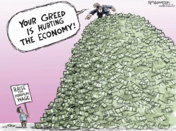 Your Greed is Hurting the Economy