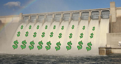 Floodgates with Dollar Signs small