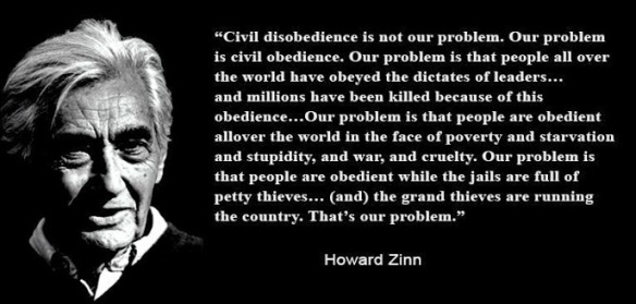 Civil Obedience is the PRoblem