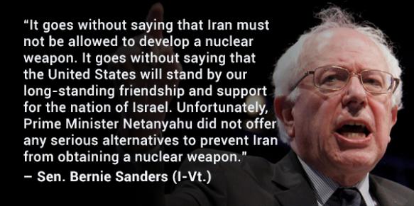 Bernie Sanders - Netanyahou