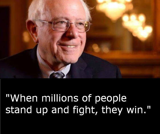Bernie Sanders - When Millions Stand Up