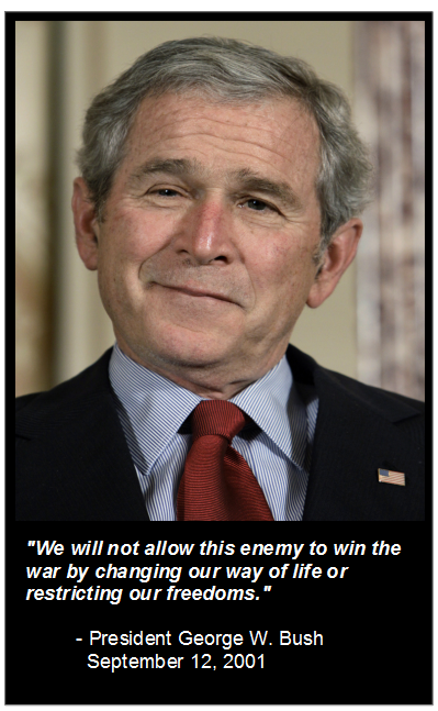 George Bush - Patriot Act