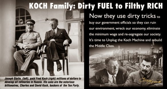 koch family and stalin